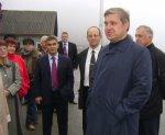 Губернатор края в Ольгинском районе
